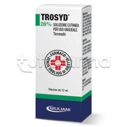 Trosyd Soluzione Ungueale 12 ml 28% contro Micosi (Funghi) delle Unghie