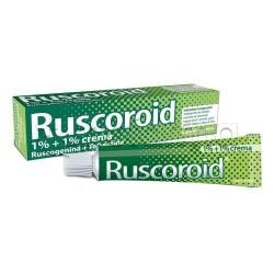 Ruscoroid Crema Rettale 40 gr 1%+1% per Emorroidi e Ragadi Anali