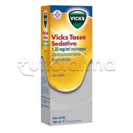Vicks Tosse Sedativo Sciroppo Calmante della Tosse180 ml miele