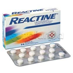 Reactine 14 Compresse 5 mg + 120 mg RP per Ridurre Sintomi Allergia Occhi Arrossati e Naso Chiuso