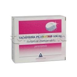 Tachipirina Flashtab 16 Compresse Orosolubili 500 mg per Febbre e Dolore