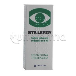 Stillergy Collirio Flacone 8 ml 0,05% + 0,3 % per Occhi Allergici ed Arrossati