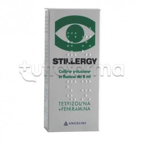 Stillergy Collirio Flacone 8 ml 0,05% + 0,3 % per Occhi Allergici ed Arrossati