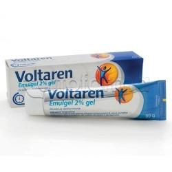Voltaren Emulgel Gel 60 gr. 2% Gel Antinfiammatorio per Dolori e Infiammazioni Formula Concentrata