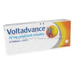 Voltadvance 10 Compresse Rivestite 25 mg Antinfiammatorio ed Antidolorici