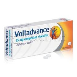 Voltadvance 20 Compresse Rivestite 25 mg Antinfiammatorio ed Antidolorifico