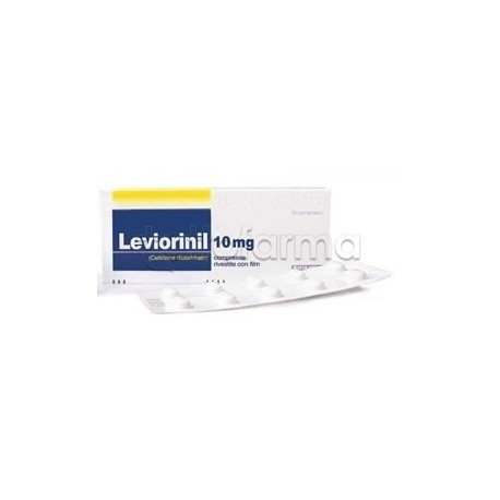 Leviorinil 7 Compresse Rivestite Antistaminico 10 mg