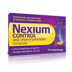 Nexium Control Gastroprotettore per Acidità e Reflusso 14 Compresse 20 Mg