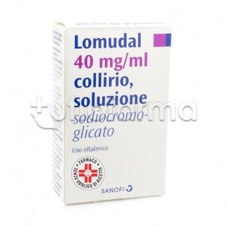 Lomudal Collirio 10 ml 40 mg/ml