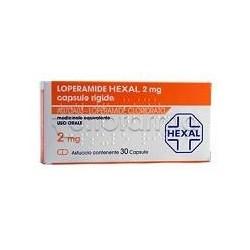 Loperamide Hexal 8 Capsule 2 mg contro Diarrea (Equivalente Imodium)