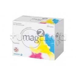 Mag 2 20 Bustine per Stanchezza e Stress 2,25 gr Magnesio