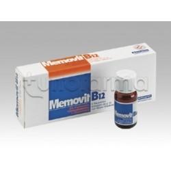 Memovit B12 Sciroppo per Memoria e Stanchezza Mentale 6 Flaconi