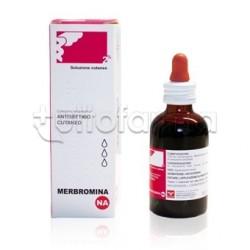 Merbromina Nova Argentia 2% Soluzione Cutanea Disinfettante 30 ml
