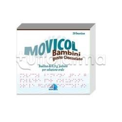 Movicol Bambini 20 Bustine 6,9 gr Cioccolato per Stitichezza