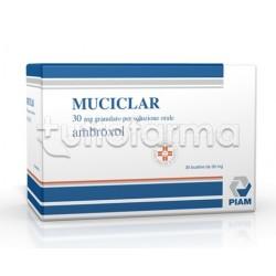 Muciclar Granulato 30 Bustine 30 mg per Tosse e Catarro