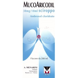 Mucoaricodil Sciroppo 600 mg 200 ml per Tosse e Catarro