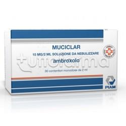Muciclar Soluzione da Nebulizzare per Aerosol 30 Fiale 15 mg/2ml per Tosse e Catarro