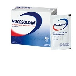 Mucosolvan Adulti 20 Bustine 60 mg per Tosse e Catarro