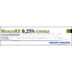 Muscoril Crema per Contratture e Dolore 30 gr 0,25%