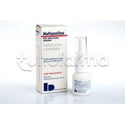 Naftazolina Spray Nasale Decongestionante 10 ml 0,2%
