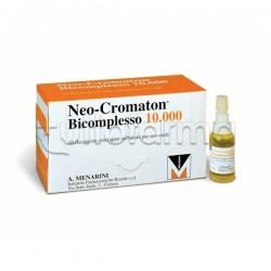 Neocromaton Bicomplesso 10000 con Vitamine B 10 Flaconcini