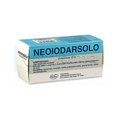 Neoiodarsolo 10 Flaconcini 15 ml Ricostituente