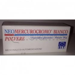 Neomercurocromo Bianco Polvere Disinfettante 20 gr