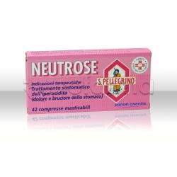 Neutrose San Pellegrino 42 Compresse per Acidità e Bruciore di Stomaco