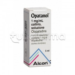 Opatanol Collirio 5 ml 1mg/ ml per Occhi Allergici