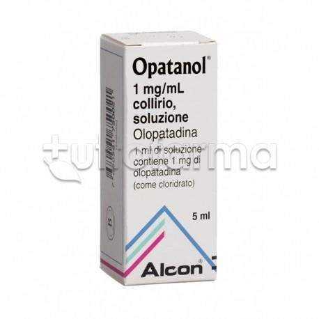 Opatanol Collirio 5 ml 1mg/ ml per Occhi Allergici