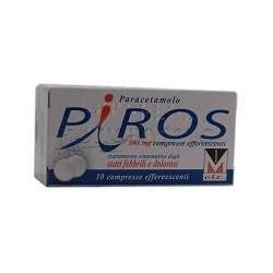 Piros per Febbre e Dolore 10 Compresse Effervescenti 500 mg