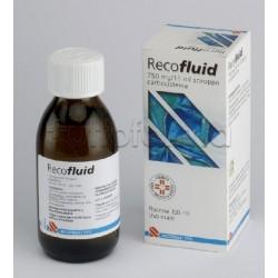 Recofluid Sciroppo Flacone 150 ml 750 mg Mucolitico per Tosse e Catarro