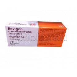 Rovigon 30 Compresse Rivestite Masticabili Vitamina A e Vitamina E