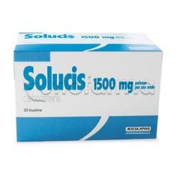Solucis Polvere 20 Bustine 1,5 gr Fluidificante per Tosse e Catarro