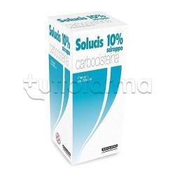 Solucis Sciroppo 200 ml 10 % Fluidificante per Tosse e Catarro