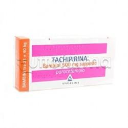 Tachipirina Bambini 10 Supposte 500 mg da 20Kg a 40Kg