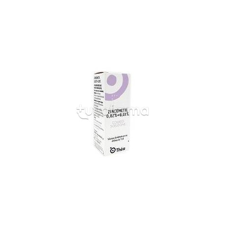 Zincometil 0,02% + 0,01% Collirio Disinfettante 15 ml
