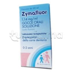 Zymafluor Fluoro per Denti Bambini Gocce Orali 20 ml