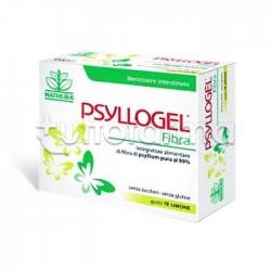 Psyllogel Fibra gusto Tè Limone con Semi di Psillio 20 Bustine per Regolarità Intestinale