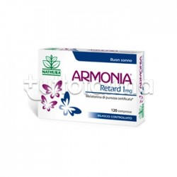 Armonia Retard 1 mg Melatonina 120 Compresse Utile per Mantenere il Sonno