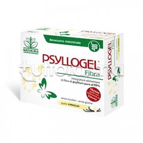 Psyllogel Fibra gusto Vaniglia con Semi di Psillio 20 Bustine per Regolarità Intestinale