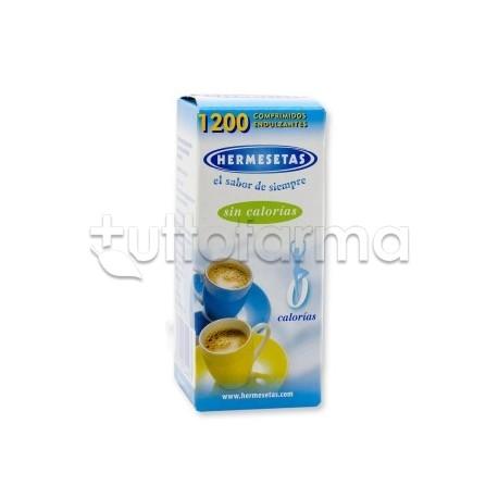 Hermesetas Original Dolcificante Senza Zucchero Adatto anche per Diabetici 1200 Compresse