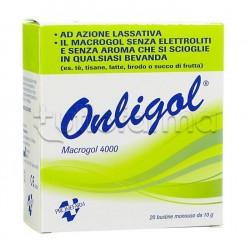 Onligol Macrogol 4000 20 Bustine