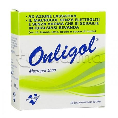 Onligol macrogol 4000 20 bustine for Planimetrie da 4000 piedi quadrati