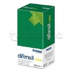 Humana Difensil Naso Spray Nasale per Liberare Naso Chiuso 20 ml