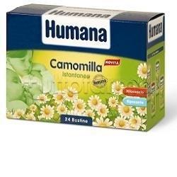 Humana Camomilla Istantanea Rilassante per Bambini 24 Bustine 5 gr
