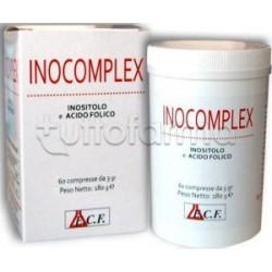 Inocomplex Integratore di Inositolo e Acido Folico per Ovaio Policistico 60 Compresse