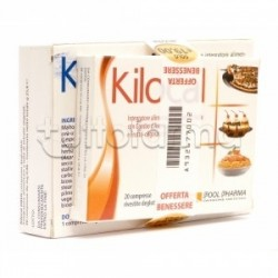 Kilocal 20 Compresse & Kilocal Dren 30 Compresse per Perdita di Peso e Ritenzione Idrica