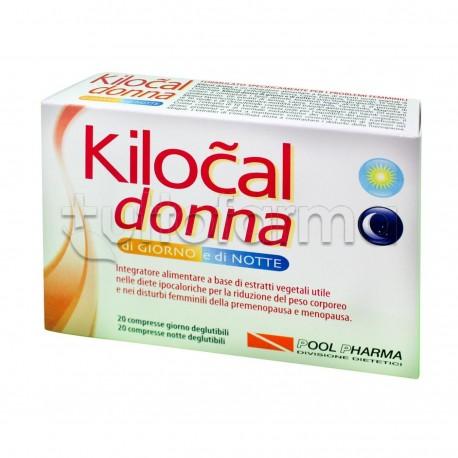 Kilocal Donna Giorno e Notte per Donne in Menopausa 40 Compresse