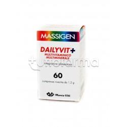 Massigen Dailyvit+ Integratore Multivitaminico Multiminerale 60 Compresse (Equivalente Multicentrum)